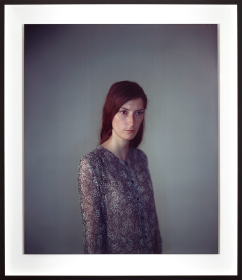 Jasmijn, 2011, camera obscura Ilfochrome photograph