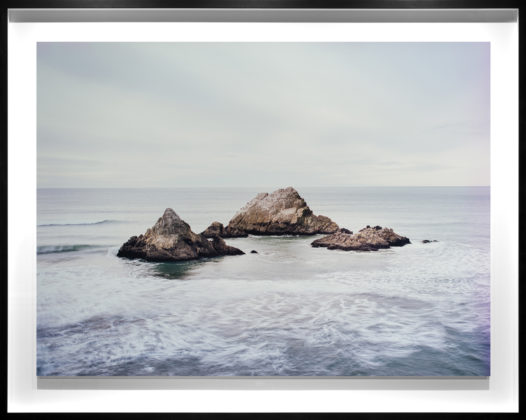 Seal Rocks, 2017, chromogenic contact print