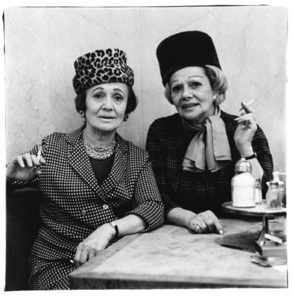 Two ladies at the automat, N.Y.C. 1966
