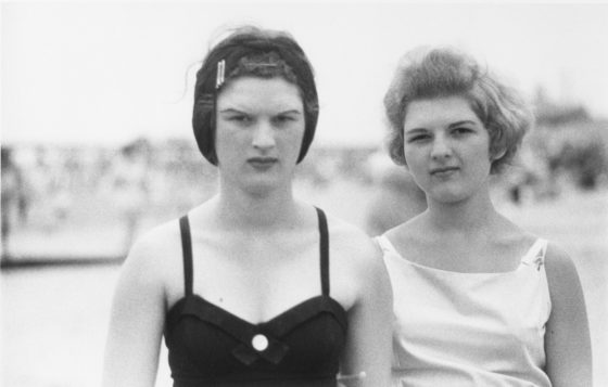 2_Two girls on the beach_1958