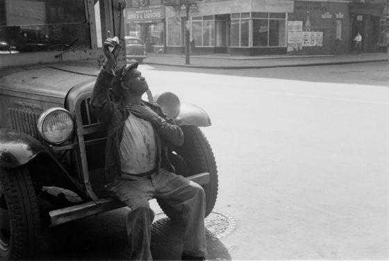 New York, ca. 1945, gelatin-silver print