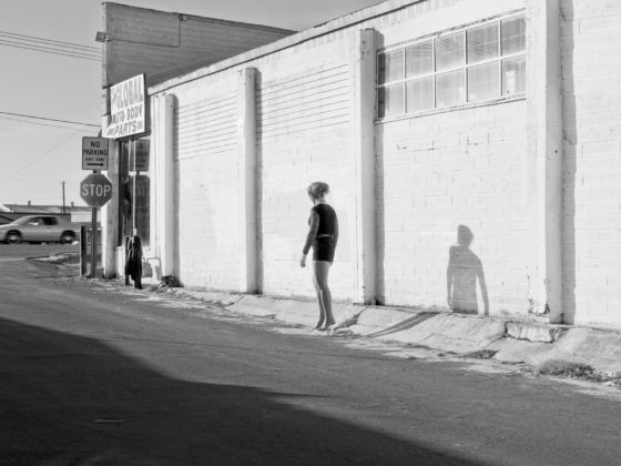 Katy Grannan, Inessa Waits Near South 9th Street, Modesto, CA, 2012