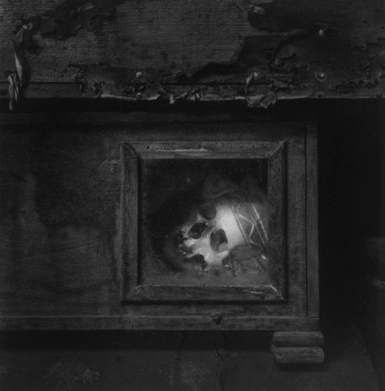 Palermo Catacombs #8, 1963, gelatin-silver print