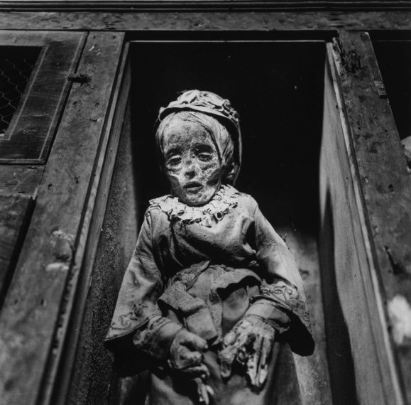 Palermo Catacombs #6, 1963, gelatin-silver print