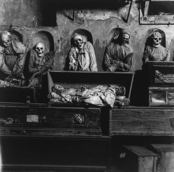Palermo Catacombs #13, 1963, gelatin-silver print