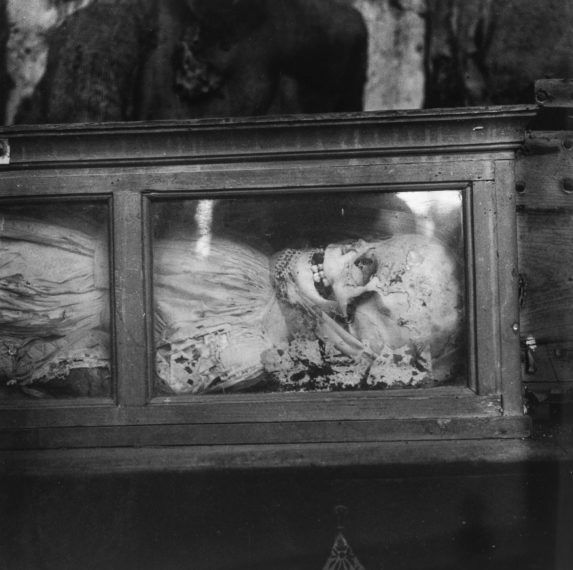 Palermo Catacombs #5, 1963, gelatin-silver print