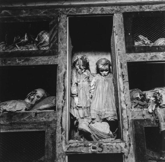 Palermo Catacombs #7, 1963, gelatin-silver print