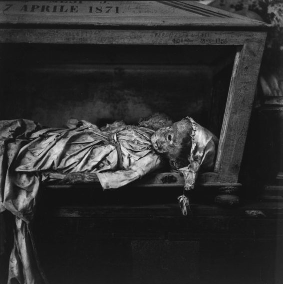 Palermo Catacombs #4, 1963, gelatin-silver print