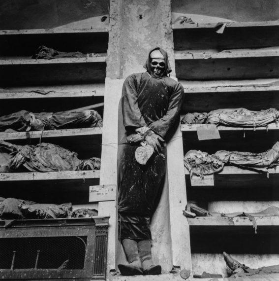 Palermo Catacombs #12, 1963, gelatin-silver print