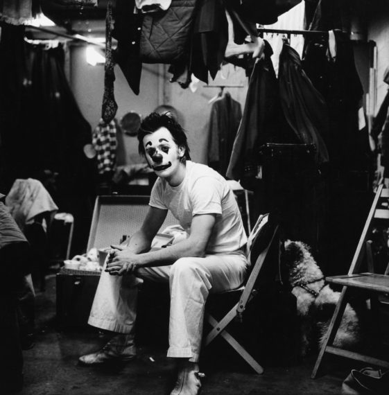 Clown in Duck Pants (II), 1973, gelatin-silver print