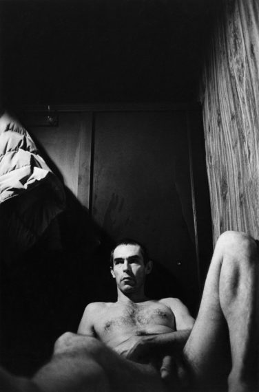Self-Portrait in the Baths, 1975, gelatin-silver print