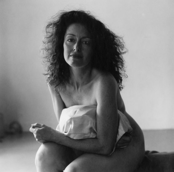 Lynn Davis, Nude with Pillow, 1985, gelatin-silver print