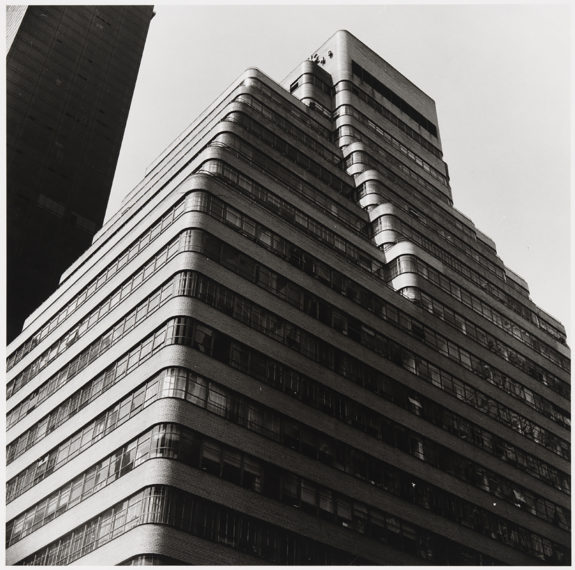 Midtown: Banked Facade, 1976, gelatin-silver print
