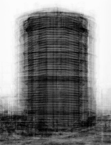 every... Bernd and Hilla Becher Prison Type Gasholder, 2004