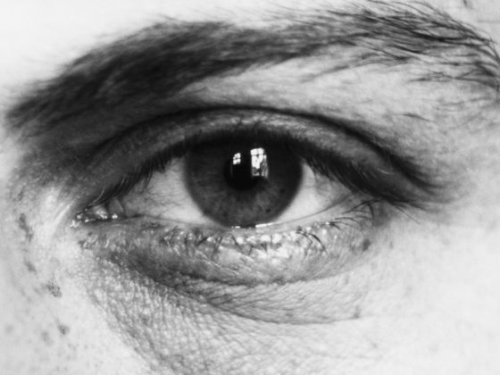 August Sander, Eye of an Eighteen-Year-Old Young Man, 1925-26