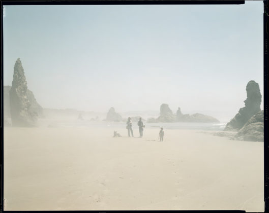 RICHARD MISRACH, Kodak, Donna, Debra, Jake, Oregon Coast, 1984