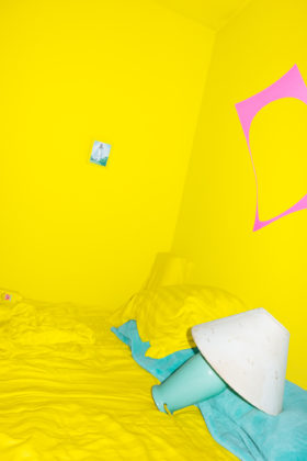 Untitled (Yellow Room), 2014, pigment print