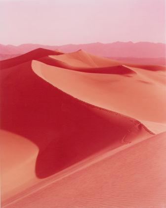 David Benjamin Sherry, Sunrise on Mesquite Flat Dunes, Death Valley, California, 2013, Traditional color darkroom photograph