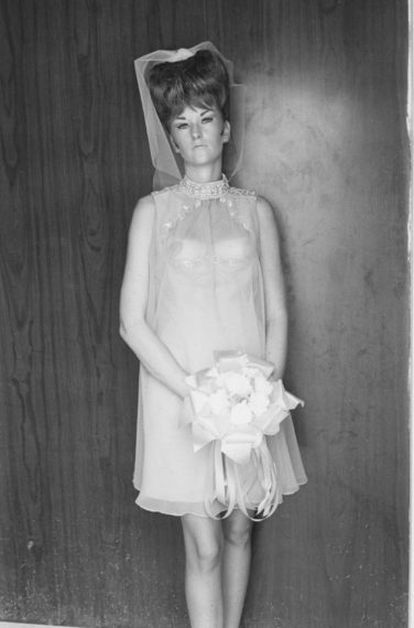 Topless Bridesmaid, 1967, gelatin-silver print