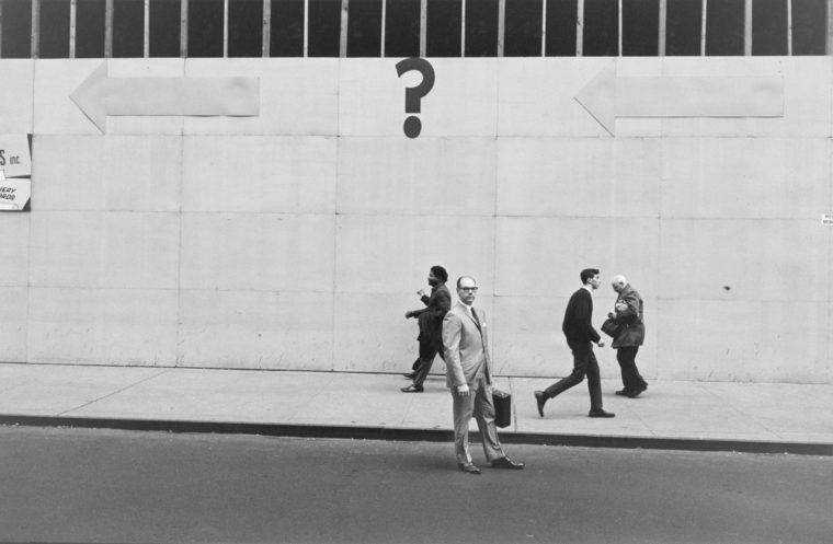 New York City, 1962, gelatin-silver print
