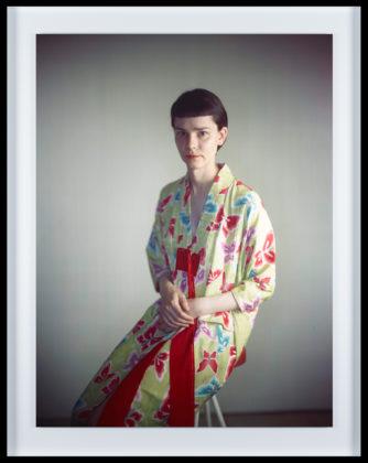 Melanie in kimono, 2016, camera obscura Ilfochrome photograph
