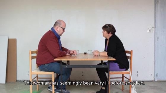 Stéphanie Solinas, Le Pourquois Pas?  la dette de l'áme (video still), 2014