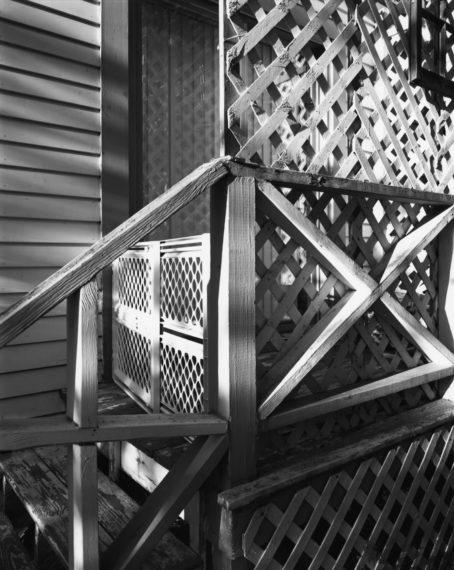 NICHOLAS NIXON, White Place, Brookline, 2008, gelatin-silver contact print